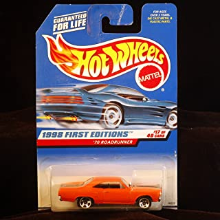Hot Wheels 1998 First Editions - 1:64 Die-Cast 1970 Roadrunner (#17 of 40 cars) - Collector #661