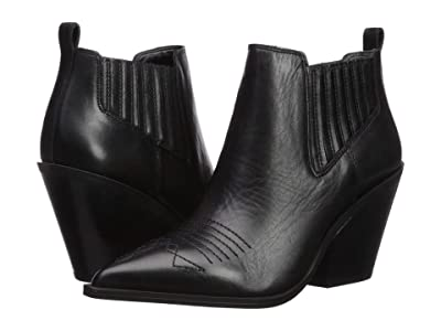 Franco Sarto Cavallarie (Black Leather) Women