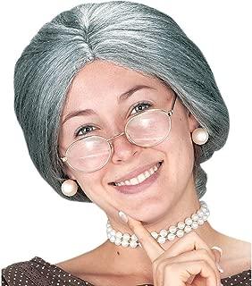 Wig, Granny Grey