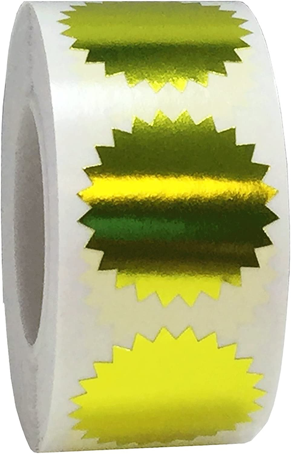 Metallic Gold Color Coding Starburst Labels Organizing for Outlet sale feature Seal Award