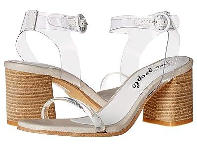 Free People Natal Heel (White) Women