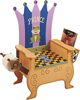 Teamson Kids Prince Potty Training Seat Chair with Removable Potty  Book Holder and Toilet Paper Holder