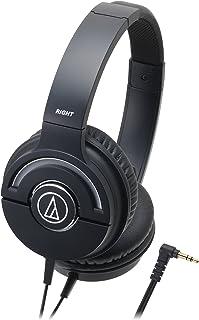 audio-technica SOLID BASS 密閉型オンイヤーヘッドホン ポータブル ブラック ATH-WS55X BK