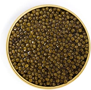Beluga Kaluga Hybrid Caviar Premium Grade A Sturgeon Roe 4oz tin
