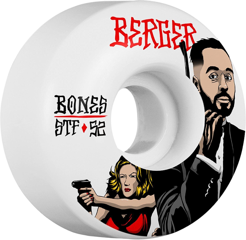 Bones Wheels Skateboard Wheels STF Berger Spy 83B 83B 83B V3 52mm Rollen B07B1WR8YR  Einfach c85a7a
