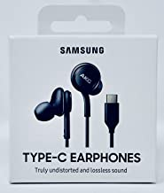 Samsung USB Type-C Earphones EO-IC100BBEGWW Black (Black) (Renewed)