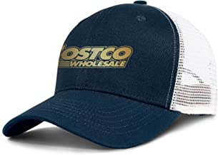ZTUO Costco-Wholesale-Flash-Gold-Sale-Items-Logo Mesh Snapback Baseball Cap Low Profile Ball Hat