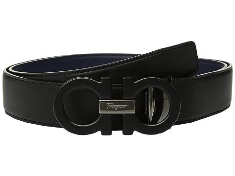 Salvatore Ferragamo Adjustable/Reversible Belt - 679710