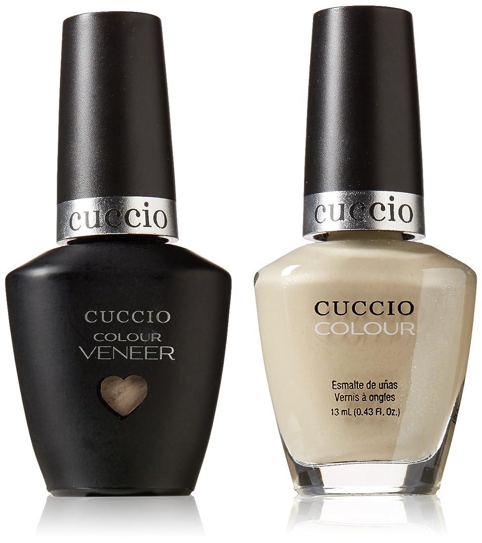 彫刻家冷蔵庫葉を拾うCuccio MatchMakers Veneer & Lacquer - Oh Naturale - 0.43oz/13ml Each