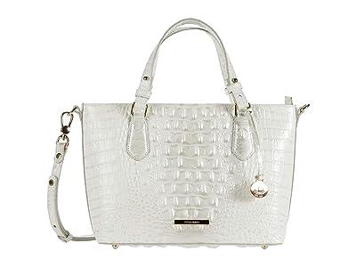 Brahmin Melbourne Mini Misha Satchel (Daydream) Handbags