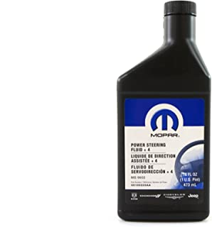 Genuine Mopar Fluid 5166226AA +4 Power Steering Fluid - 1 Pint - 68218064AA