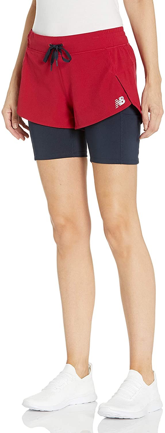 Max 50% Selling and selling OFF New Balance Women's Impact Run Short 1 2 In