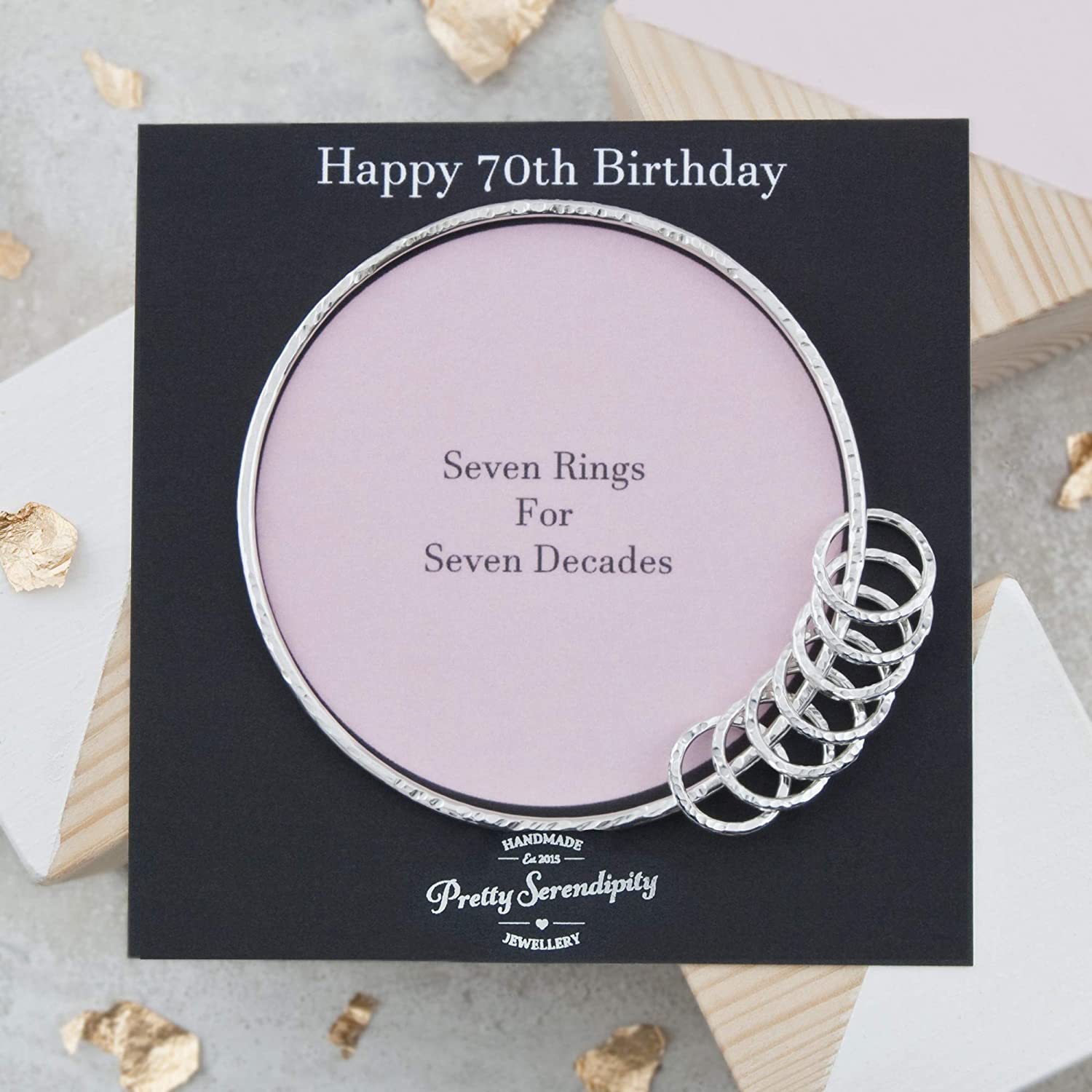 wholesale 70th Outlet SALE Birthday Bangle