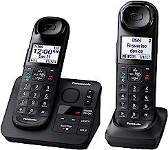 تلفن سانترال پاناسونیک KX-TGL432B Dect_6.0 2-Handset، Black