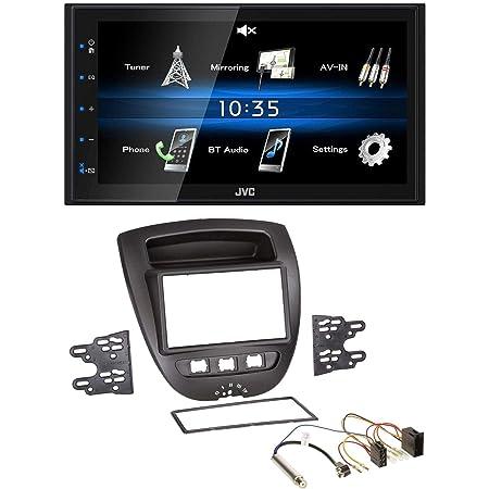 Xxrug Android Auto Navi Für Toyota Aygo Peugeot 107 Citroen C1 Headunit Gps Navigationssystem Swc 4g Wifi Bt Usb Aux Radio Sport Freizeit