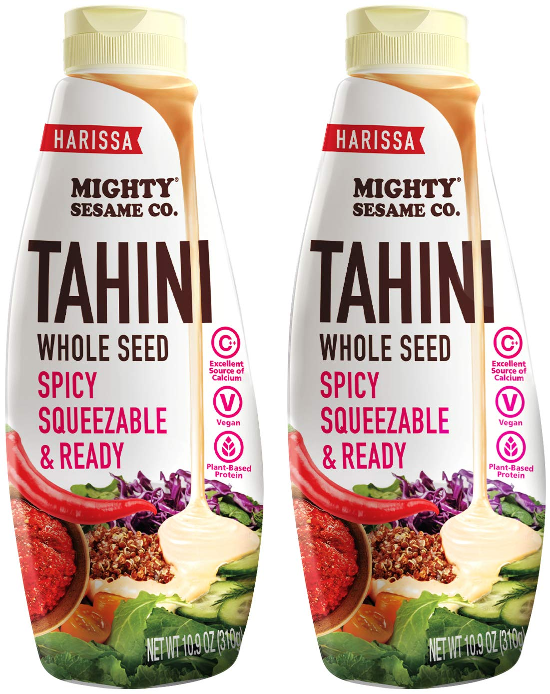 Mighty Sesame Co. Harissa Tahini Ready Chili Squeezable Mesa Free shipping anywhere in the nation Mall Spicy