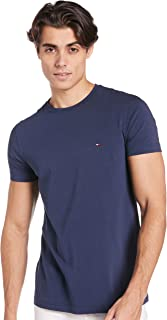 Tommy Hilfiger Men's New Stretch C-Nk S/S Sf T-Shirt (pack of 1)