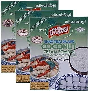 3 Boxes Chao Thai brand Coconut Cream Powder 13 oz box