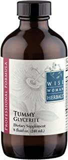 Wise Woman Herbals – Tummy Glycerite – 8 Oz – Supports Normal Digestive System Function