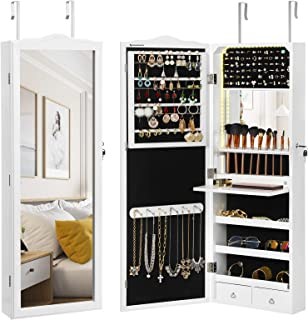 Best white jewelry armoire Reviews