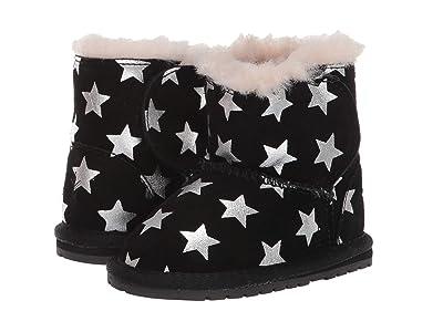 EMU Australia Kids Toddle Starry Night (Infant) (Black) Girls Shoes
