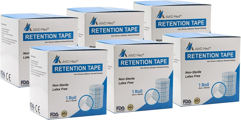 AWD Medical Dressing Retention Tape Brand new Skin - Non Fr [Alternative dealer] Woven