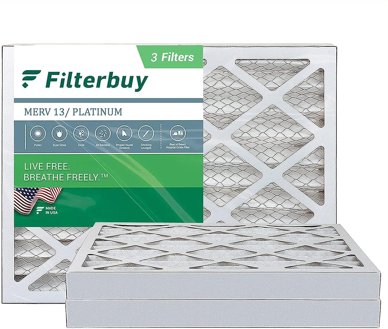 FilterBuy Be super welcome 13x20x2 Air Filter MERV 13 HVAC Furnace Pleated Fi AC Seattle Mall