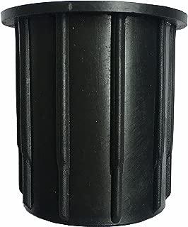 Do4U Patio Umbrella Parasol Base Stand Hole Ring Plug Cover and Cap 2.1 - Inch (Black)