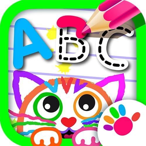 ABC Zeichnen! Malen für Kinder Buchstaben und Schreiben Lernen Kostenlos! Das Alphabet Baby Malbuch Spiel GRATIS im Kinderspiele Spiele ab 2 3 4 5 Jahre! Kindergarten Lernspiele Nach Mädchen und Jungs