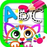 ABC Dessine! Jeux Educatifs de Dessiner Lettres le Alphabet Français GRATUIT! Livre Coloriage pour les Enfants 2 3 4 5 6 Ans Fille Filles Garçons! Apprendre à Lire Jeu Dessin Enfant, Bebe Maternelle