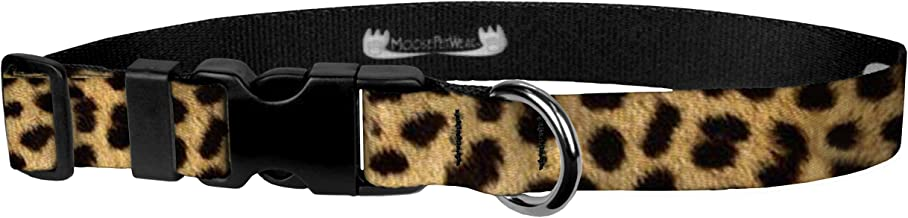 Cute Animal Print Dog Collar and Leash - Waterproof Colorful Animal Print Dog Collar and Dog Leash, Wide Range of Sizes for Every Dog