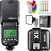 Godox V860II-O TTL GN60 2.4G High-Speed Sync 1/8000s Li-ion Battery Camera Flash Speedlite with X1T-O Wireless Trigger Tra...