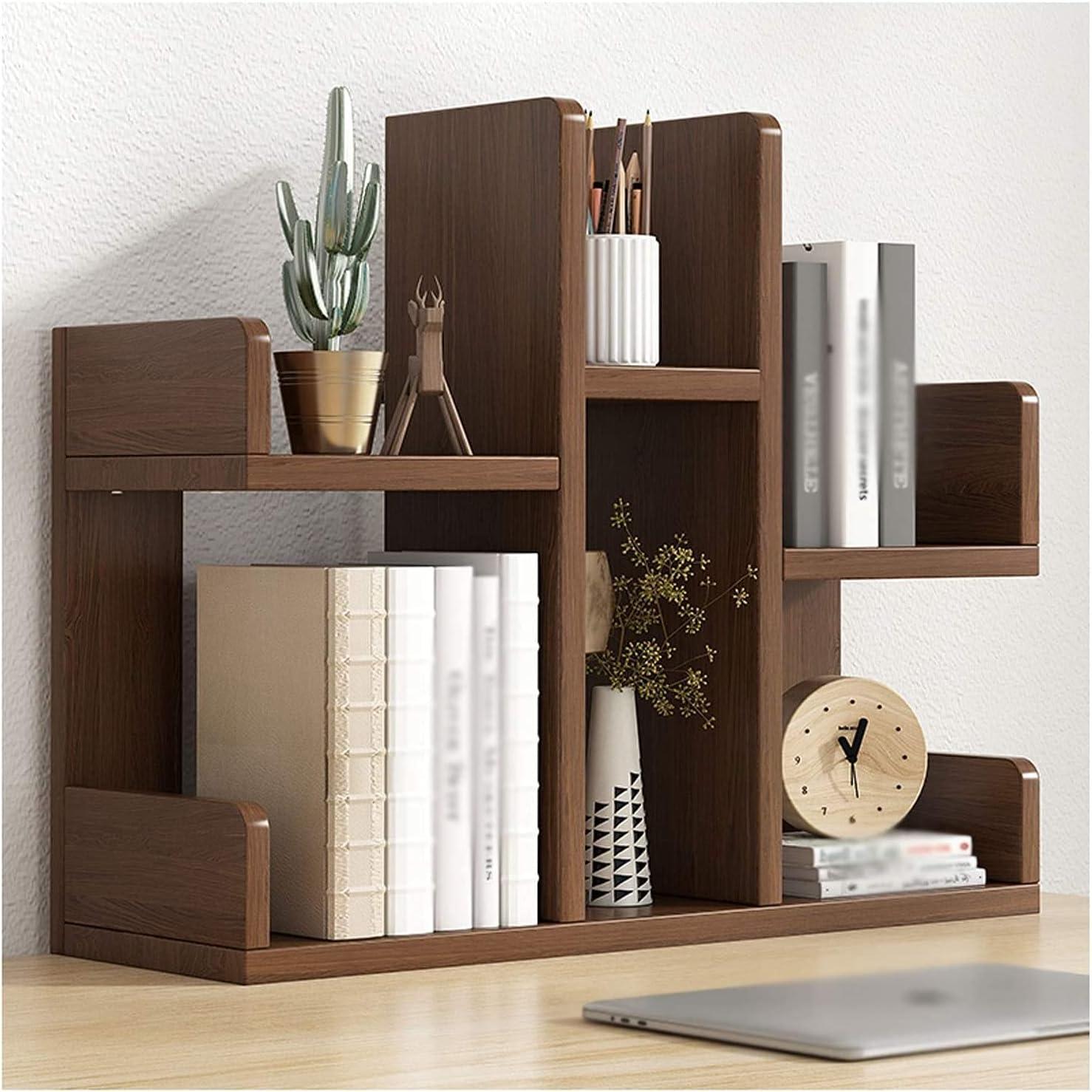 Store LBMTFFFFFF Novelty Bookshelf Storage Desktop Simple Bookshe 25% OFF Rack