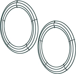 small wire wreath forms
