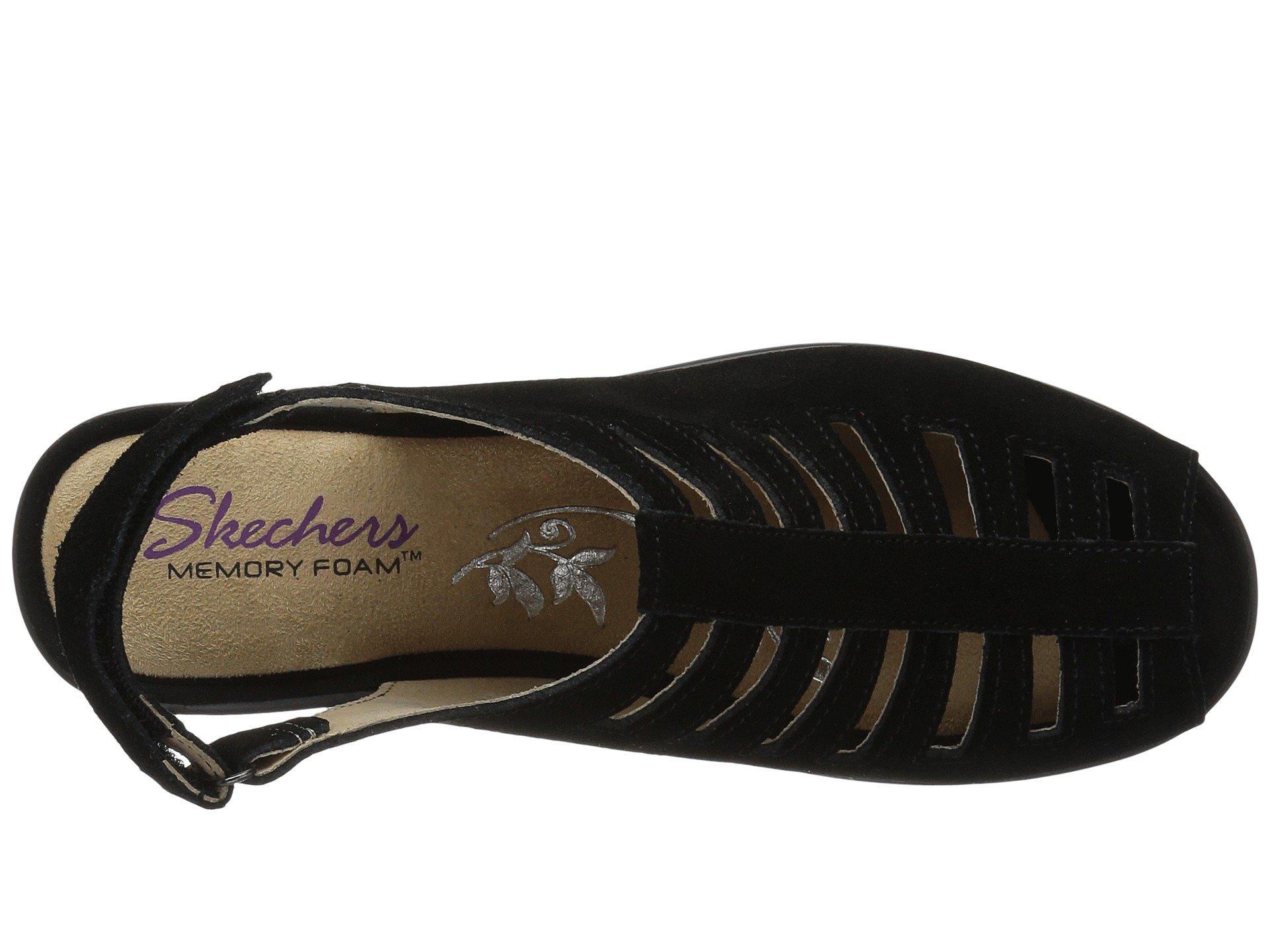 Skechers Parallel Black Parallel Trapezoid Trapezoid Black Skechers IvrwIq