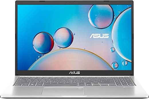 ASUS VivoBook 15 (2020), 39.6 cm HD, Dual Core Intel Celeron N4020, Thin and Light Laptop (4GB RAM/256GB SSD/Integrated Graphics/Windows 10 Home/Transparent Silver/1.8 Kg), X515MA-BR002T