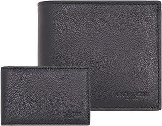 [コーチ] COACH 財布 (二つ折り財布) F74991 ブラックBLK レザー 二つ折り財布 メンズ [アウトレット品] [並行輸入品]