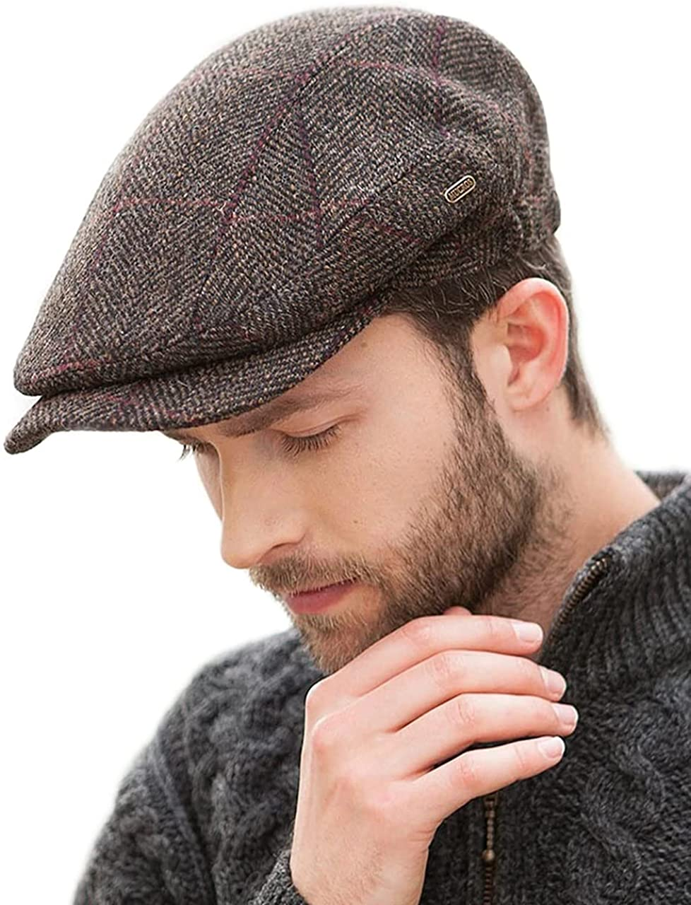 Mucros Weavers Irish Outlet ☆ Challenge the lowest price of Japan Free Shipping Flat Cap Ireland Tweed Made in Hat