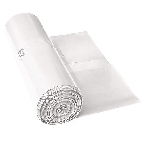 Sacs poubelle ProfessionalTree 120 L - extrêmement résistant - rouleau de 25 - type 100 extra - sacs à ordures XXL sac pour déchets - 70μ - 700x1100 mm - LDPE - transparent