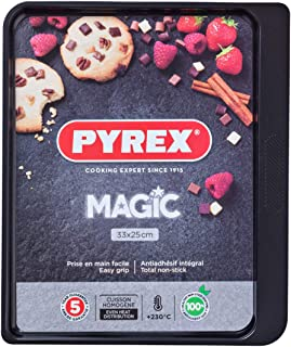 Pyrex Plaque de Cuisson Metal 33x25cm Magic, 33x25 cm