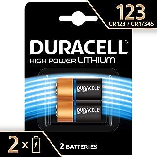 Paquete con 2baterías Duracell especiales para fotografía de ultra litio especiales 123
