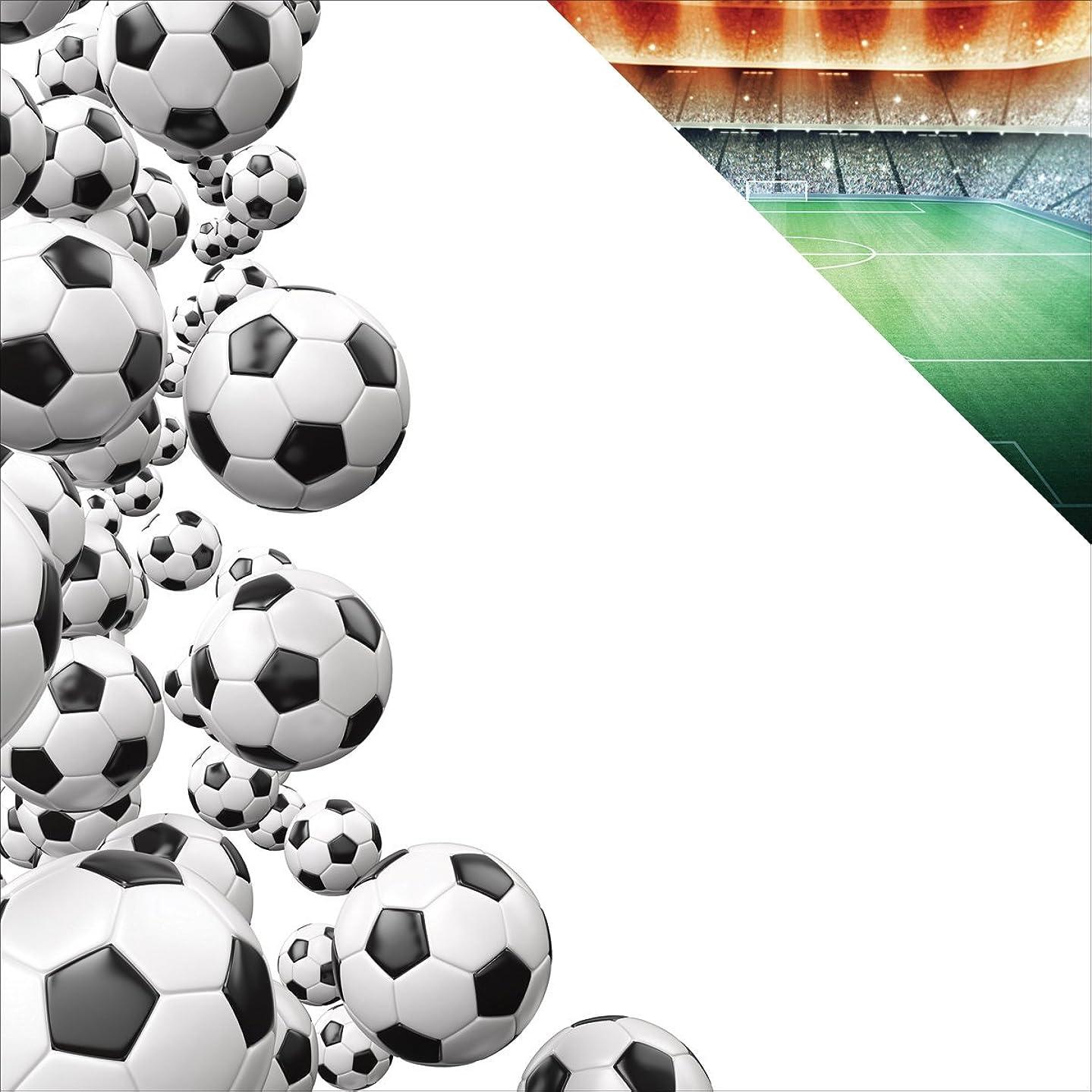 Reminisce TSOC-004 25 Sheet Border Soccer Double-Sided Cardstock, 12