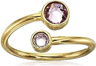 Alex and Ani Birthstone Ring Wrap -June - Gold-Tone - A16RW11G