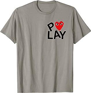 Heart Pocket T-Shirt Men Women Kids
