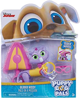 Puppy Dog Pals 94074 Light Mission-Hissy with Glider and Glasses, Multicolor