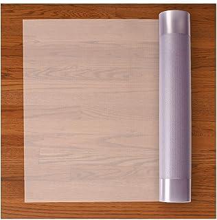 Resilia Premium Heavy Duty Floor Runner/Protector for Hardwood Floors - Non-Skid, Clear, Plastic Vinyl, 27 Inches x 6 Feet