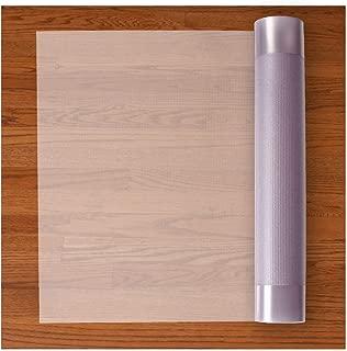 Resilia Premium Heavy Duty Floor Runner/Protector for Hardwood Floors – Non-Skid, Clear, Plastic Vinyl, 27 Inches x 12 Feet