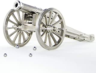 Sunny Hill Mini Stainless Steel Handcrafted Napoleon Cannon Model Rare Military Collection
