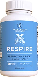 Lung Cleanse and Detox & Lung Support Supplement - Respire - Natural Allergy Relief & Respiratory Decongestants for Adults...