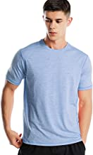 Dry Fit Athletic Shirts for Men Short/Long Sleeve Workout Shirt